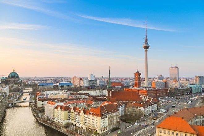Berlynas- sienos padalintas miestas