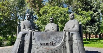 Brolių Vileišių paminklas