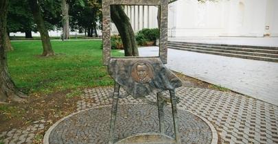 Mstislavo Dobužinskio skulptūra-paveikslas